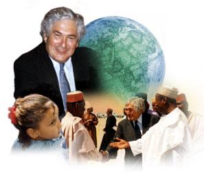 """Wolfensohn juega el rol del """"padrino"""" generoso"""