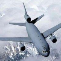 PILLADO: Avión militar KC-10 fumigando chemtrails
