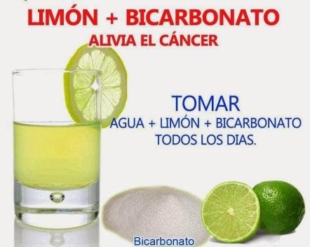 Bicarbonato de Sodio contra el Cáncer