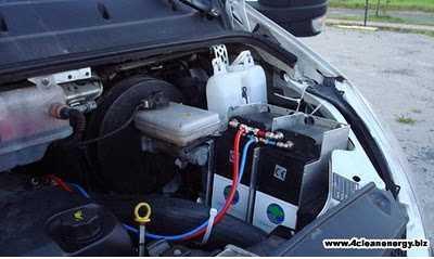 El filtro de combustible en aktion la gasolina