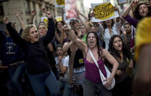 España manifestacion democracia real ya 15 mayo 2011