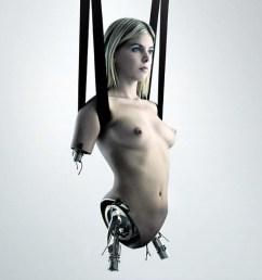 mujer robot esclava