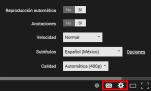 Resultado de imagen de icono subtitulos youtube