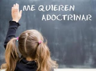 adoctrinamiento educativo