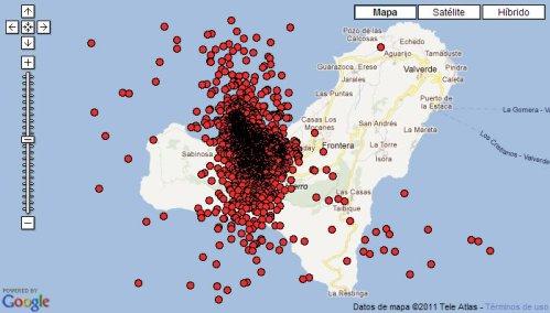 Canarias, Actividad Sísmica... El Hierro y su incremento sísmico. Hierro