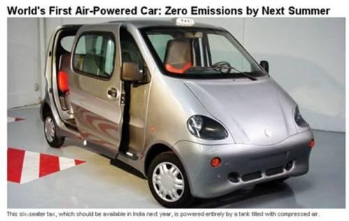 TATA coche aire comprimido