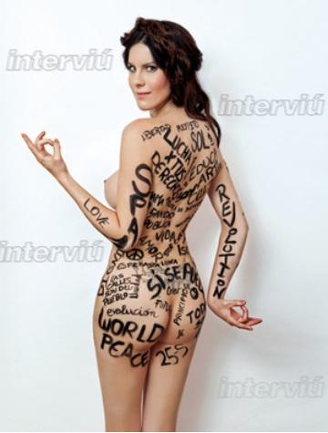 Jill Love, activista 25s se desnuda para interviu