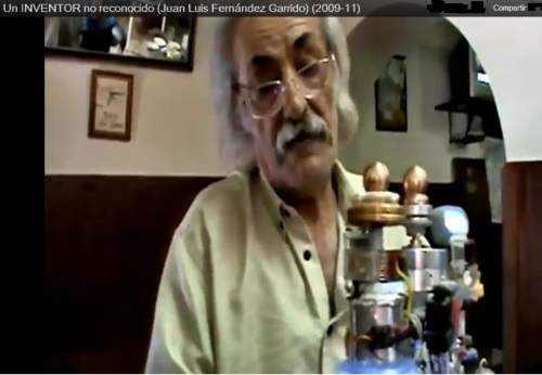 Juan Luis Fernandez Garrido, inventor de Energia Libre no reconocido