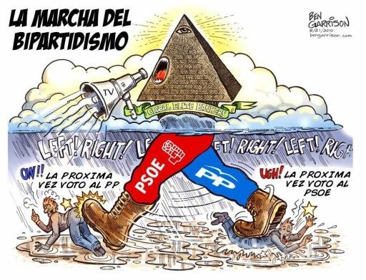 TREMENDO VARAPALO AL BIPARTIDISMO DE LA CASTUZA EN LAS ELECCIONES EUROPEAS 2014