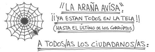 """carta de arnau la arac3b1a - UN PLAN SILENCIOSO por EL AGENTE SECRETO """"LA ARAÑA"""""""