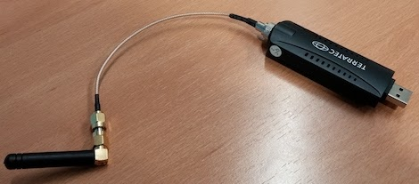 Tarjeta RTL-SDL por USB para escuchar la red móvil GSM