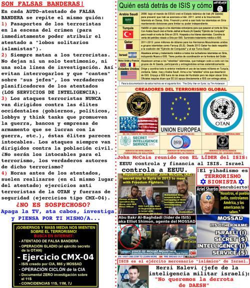 ATENTADO BARCELONA: NOS OCULTAN LA VERDAD SOBRE EL TERRORISMO