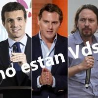 ESPAÑA ELECCIONES 2019: COMIENZA EL CIRCO
