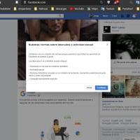 SI USAS FACEBOOK NO ERES FEMINISTA, ERES MACHISTA