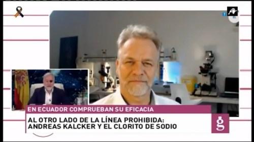 Primera entrevista en un canal de TV español a Andreas Kalcker - El COVID-19 se elimina con dióxido de cloro