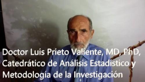 Carta de Luis Prieto Valiente, MD, PhD, Catedrático de Análisis Estadístico y Metodología de la Investigación sobre el uso medicinal del DIOXIDO DE CLORO