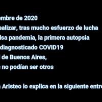 LA PRIMERA AUTOPSIA DE UN PACIENTE COVID19 EN ARGENTINA REVELA LA VERDAD DE ESTA FALSA PANDEMIA