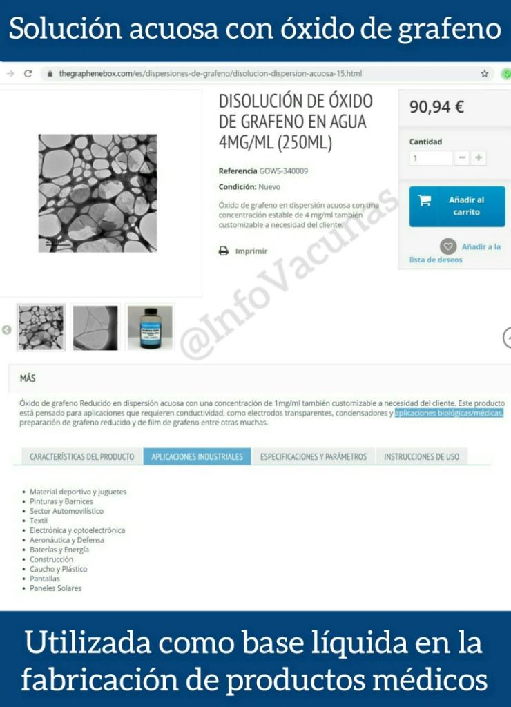 ¿SARS-COV2 u ÓXIDO DE GRAFENO?